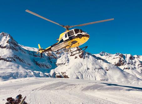 Reverse Heli-skiing Bonneval-sur-Arc