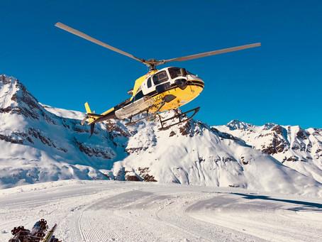 Héli-ski inversé Bonneval-sur-Arc