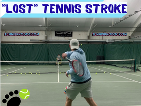 "Can you "" lose"" a tennis stroke??"