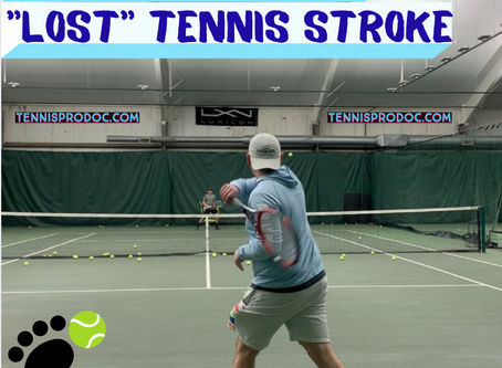 """Can you """" lose"""" a tennis stroke??"""