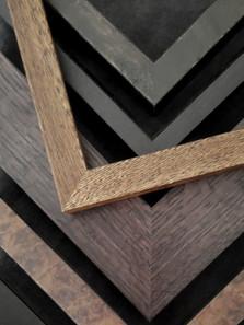 Genuine hardwood mouldings.