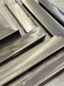 A selection of welded steel frames.