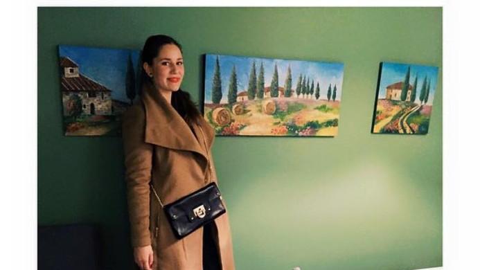 Tuscany triptych, Modern art  2015