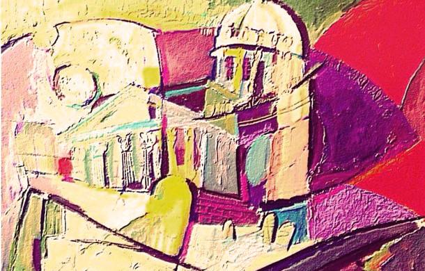 Saint-Petersburg 01, Abstract art  2014