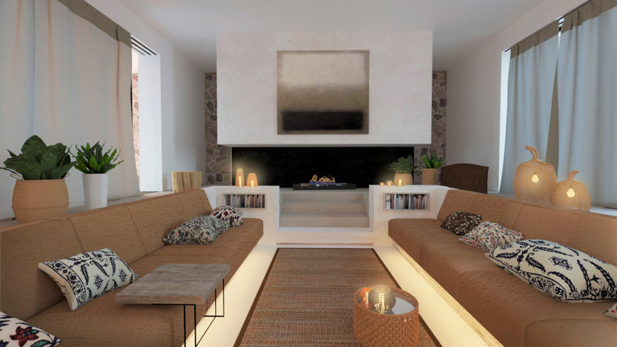 Details, design of the sofa
