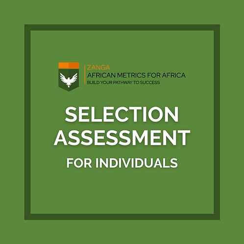 Selection Assessment (for Individuals)