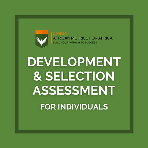 Development & Selection Assessment (for Individuals)