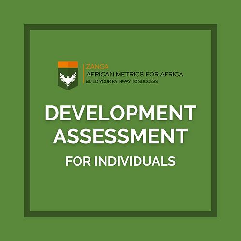 Development Assessment (for Individuals)