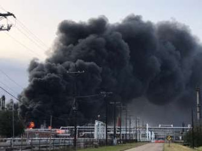 Plant Explosion Rocks Port Neches