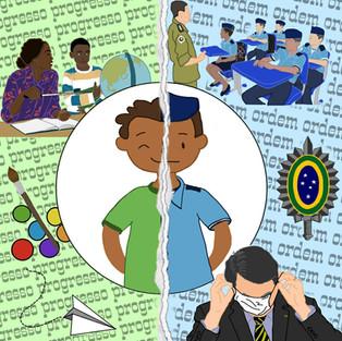 Surgimento e Implicações do Projeto Cívico-Militar na Educação