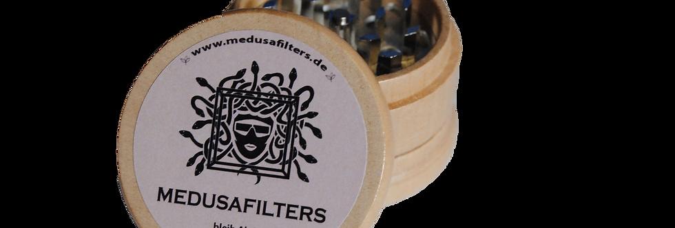 Holz Grinder 3- Teilig von Medusafilters