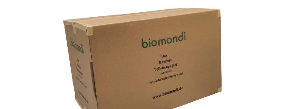 Biomondi Bambus Toilettenpapier 12x8 Rollen