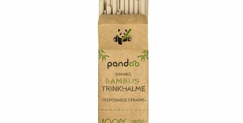 Bambus Trinkhalme (50er Pack) von Pandoo