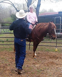 When 1on1 with Larry, he will find any resistance in your horse and you. You will learn Why te resistance is there and how to soften it. 3L Horsemanhip Clinics