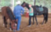 Horsemanship clinic for Heart and Hooves