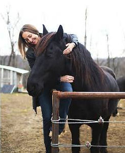 It's a great feeling when your horse knows you care. Larry French Horsemanhip