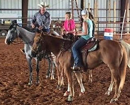 Host or Join a Kids Only Horsemanship Clinic-3L Horsemanhip-Larry French/Arkansas