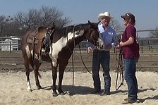 Always having fun. Horsemanship 1on1 session. Private Horsemanship Clinic