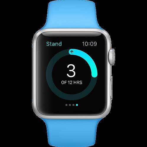 Apple Watch Series 4 sport blue