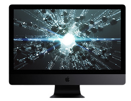 Apple iMac intel core i7 1tb black