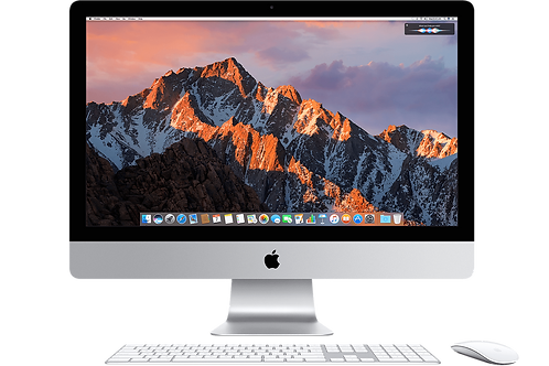 Apple iMac intel core i5 1tb silver