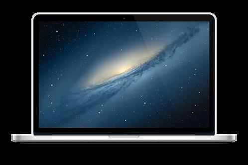 Macbook Pro intel core i3 1tb silver