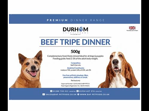 British Beef Tripe Dinner