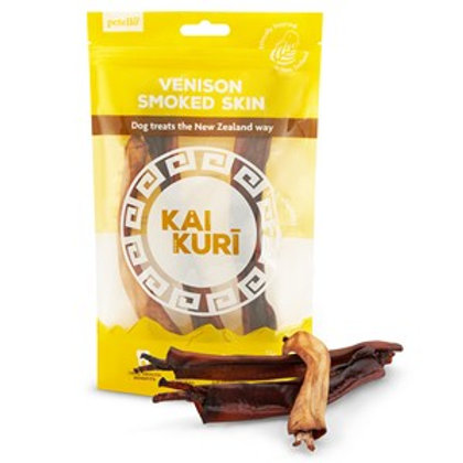 Kai Kuri Air-Dried Smoked Venison Shank Skin Dog Treat 50g