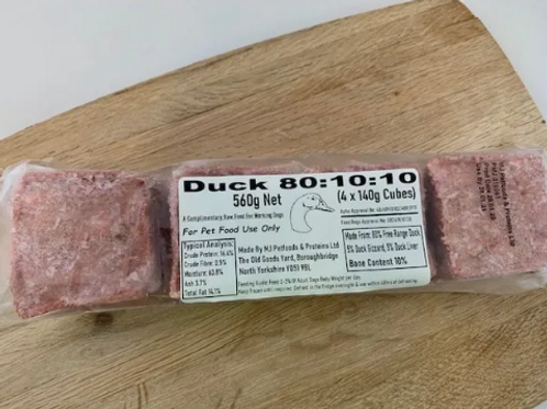 MJ Foods Duck 80-10-10