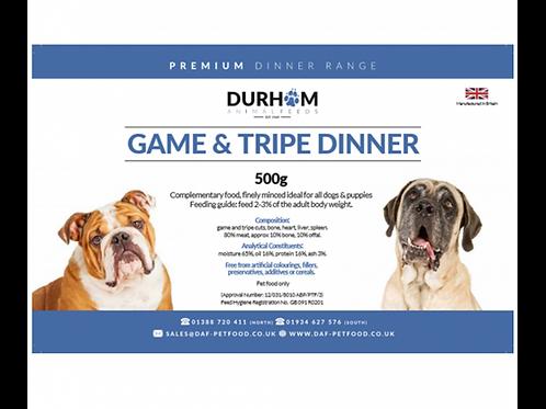 Game & Tripe Dinner