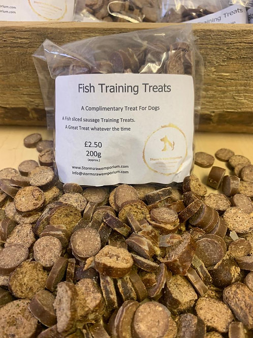 Fish Sausage Training Treat