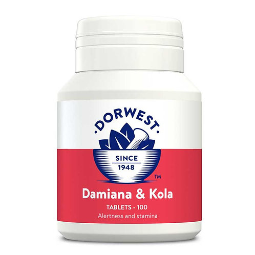 Damiana & Kola Tablets