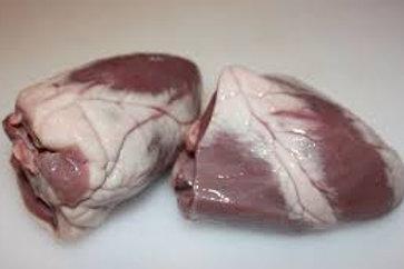 Lambs Heart chunks