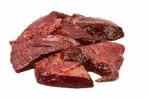Daf Beef Spleen Chunks 1kg