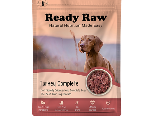 Ready Raw Turkey Complete 150g