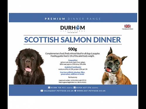 Scottish Salmon Dinner
