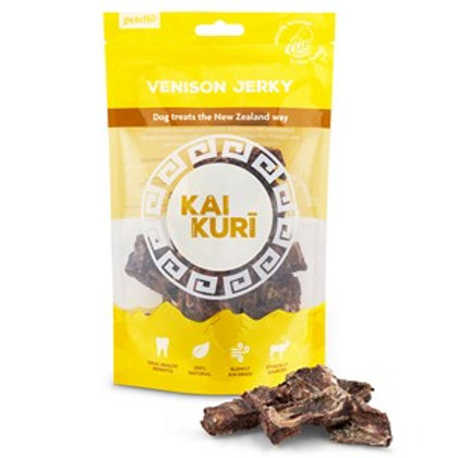 Kai Kuri Air-Dried Venison Jerky Mix Dog Treat 85g