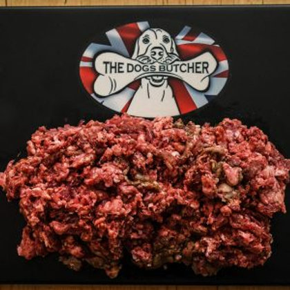 The Dogs Butcher 1KG Venison, beef with turkey 80-10-10