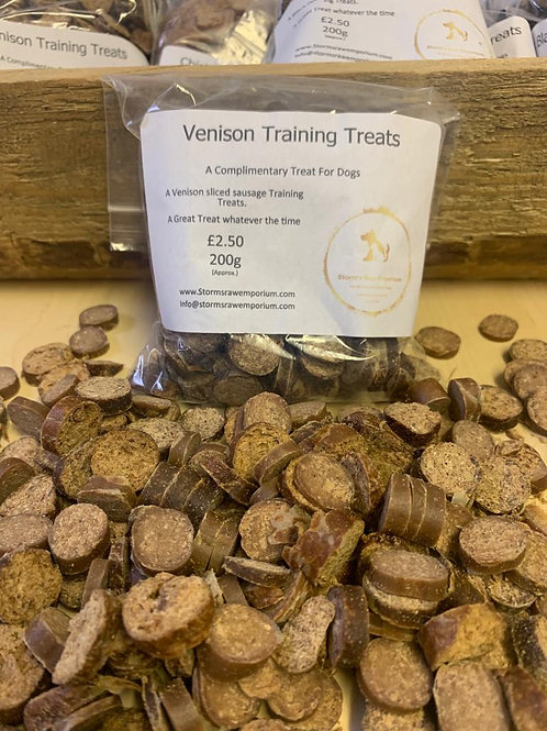 Venison Sausage Training Treat