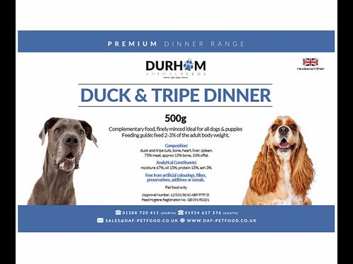 Duck & Tripe Dinner - 500g