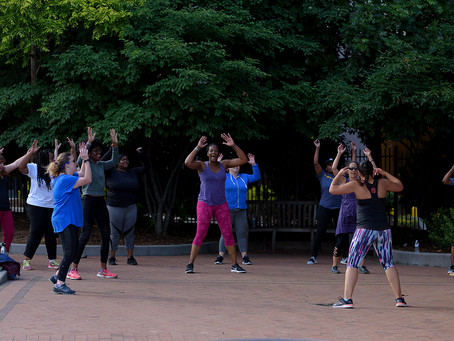 Dance and Move with Zumba in the Park