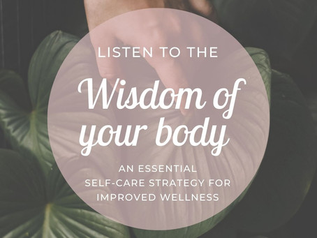 Listen To The Wisdom Of Your Body: A Self-Care Strategy From Cheri Timmons