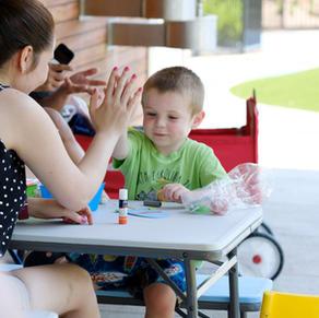 Crafts & Conversation with DUCK Lab Child Development Research Center at UNCG