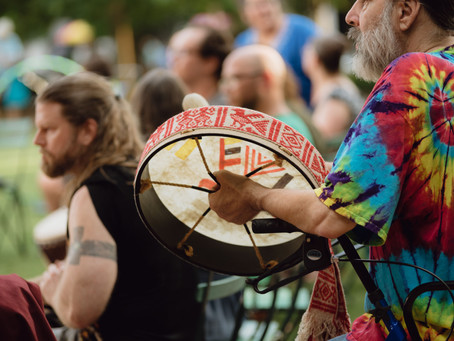 Let the Rhythm Flow: First Friday Drum Circle