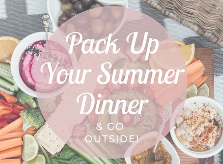 Packable Dinner Ideas From Cheri Timmons