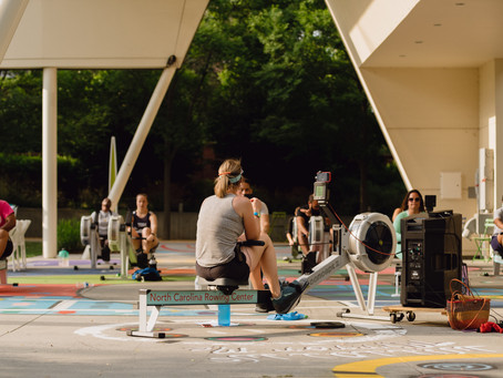 Break a Sweat with A-Row-Bics: Rowing and Circuits
