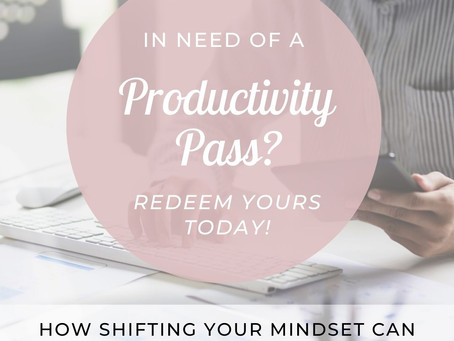 We're all in need of a productivity pass right now