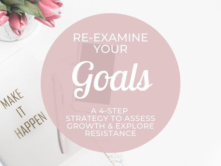 Re-Examine Your Goals With Cheri Timmons