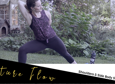 Nature Flow With GSO Downtown Yoga: Shoulders & Side Body Stretches Part 2