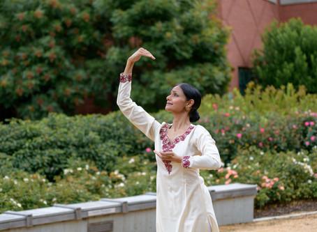 Ramya Sundaresan Kapadia, Bharatanatyam in Carolyn's Garden
